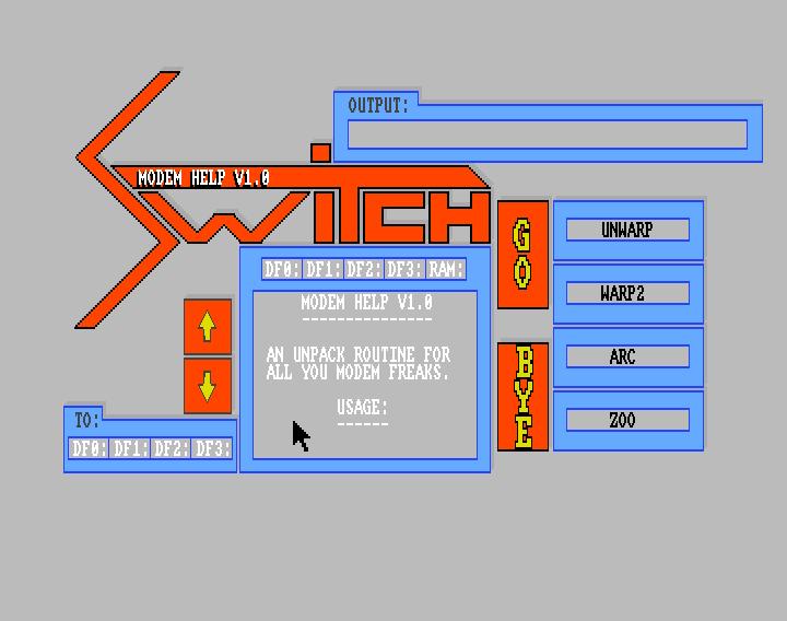 Modem Help v1 0 alpha (Amiga Packdisk)