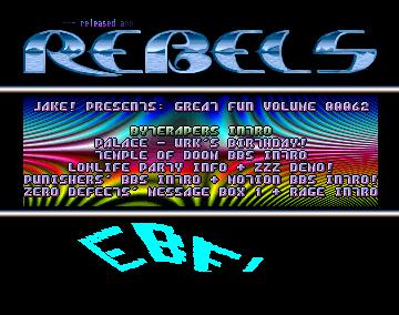 Temple Of Doom BBS (Amiga Intro)