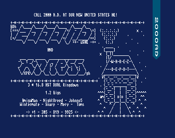 Warez Unlimited (Amiga Demo Scene BBS)