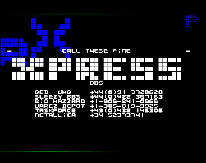 Warez Depot (Amiga Demo Scene BBS)